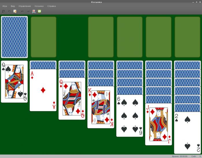 карточные игры linux